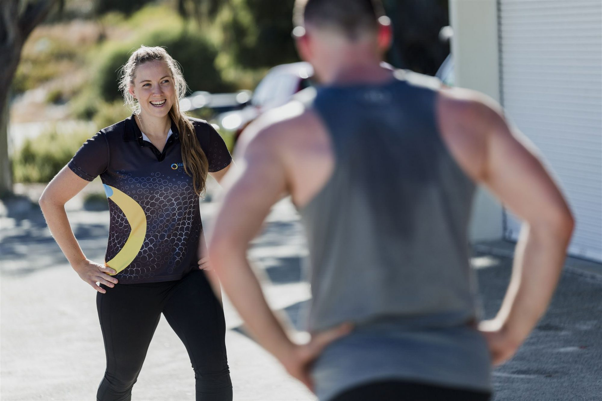 Perth health and fitness business branding photography for exercise physiologists Valetudo Health by commercial photographer Dennis Tan Creative